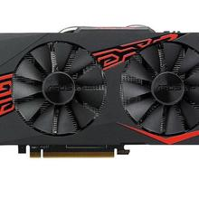 USED,ASUS RX 570 4G graphics cards 7000MHz GDDR5 256bits HDM