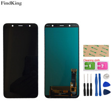 OLED Incell LCD Display For Samsung Galaxy J8 2018 J810F J810M SM-J810F J810M Touch Screen Digitizer Assembly Parts Tools