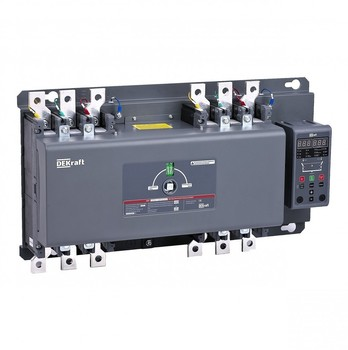 Dekraft AVR on AVT. Off. With built-in. Control Unit 160A, 3 P, 35кА АВР-303 41036DEK