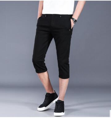 WZX01 Summer Men's Casual Pants Beach Pants Sports Casual Trend Korean Version Of