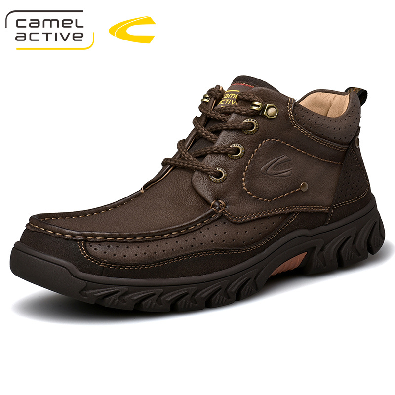 Camel Active New <font><b>Men</b></font> <font><b>Shoes</b></font> <font><b>Mens</b></font> <font><b>Winter</b></font> Snow Boots Martins Leather <font><b>Shoes</b></font> Ankle Boots Waterproof Motorcycle Casual Coturno Botas image