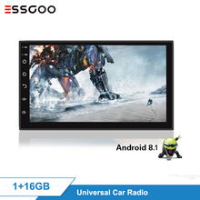 Essgoo Android Auto Radio 1 + 16GB Auto Radio 2 DIN Mobil Radio Central Multimidia Video Pemain Automotivo Universal GPS navigasi(China)