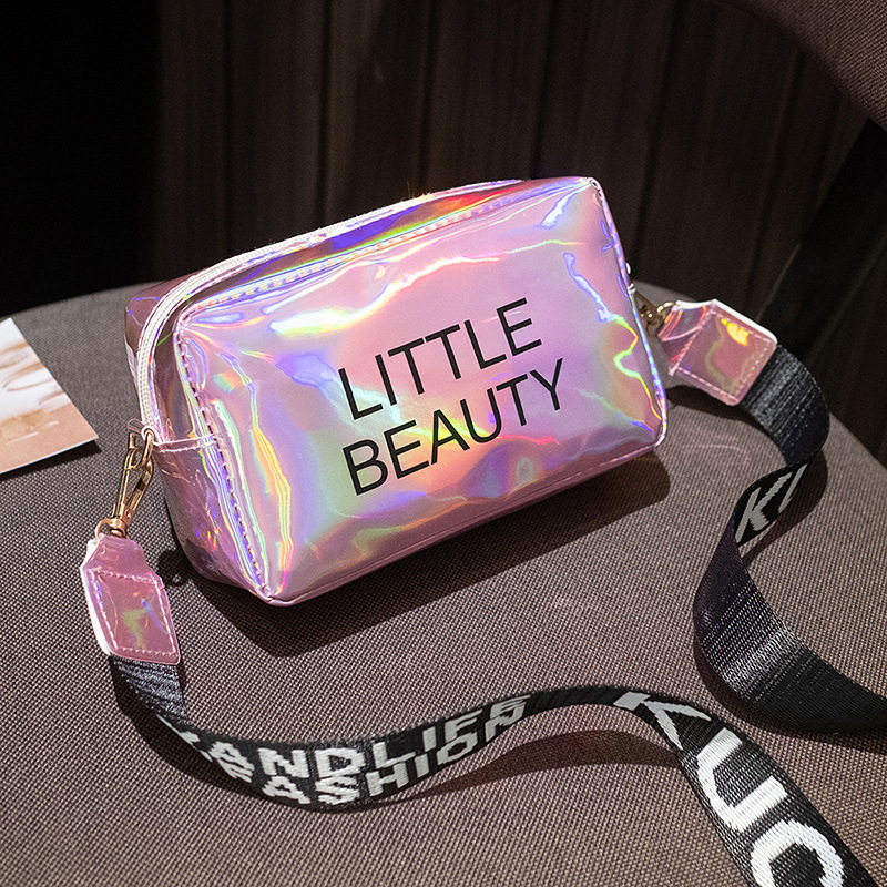 2020 Fashion Bag For Women Laser Crossbody Bag Messenger Shoulder Bag Party Jelly Small Tote Messenger Candy Colors Bags