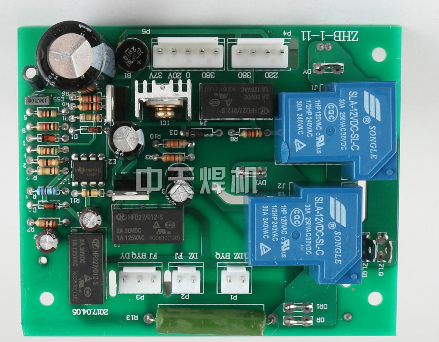 Qingdao Aitel Real Bit ZX7-315L/400L Dual Voltage Source Welding Machine Circuit Board Switching Conversion Board