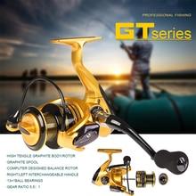 GT1000-7000 5.1:1 / 4.7:1 Spinning Fishing Reel Wheel 13 +1BB Saltwater Fishing Rock Fishing Reel Full Metal Spool Fishing Wheel 12 1bb 5 2 1 full metal spinning fishing reel super amg3000