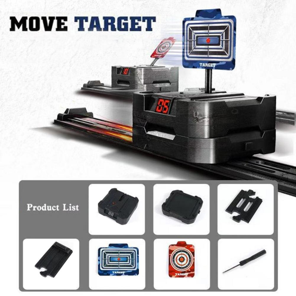 Toys Mobile Electronic Scoring Target Electric Scoring Automatic Return Target For Cross-border R728