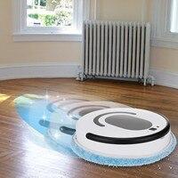 Robot aspirador inteligente para barrer, barrido y fregado en seco y húmedo, fregar y máquina de lavar automáticamente, # T