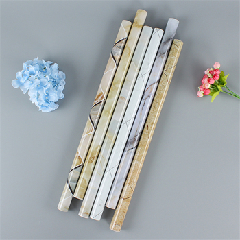 Marble Stickers Kitchen Wall Stickers Wallpaper Anti-oil Paste Self-adhesive Foil Waterproof Bathroom Wall Stickers