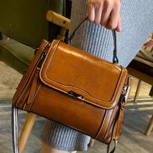 Torebki biurowe damskie 2020 nowe torebki damskie torebki damskie projektant torebki damskie teczka torba z prawdziwej skóry torebki i torebki tanie tanio Na co dzień torebka Torby na ramię Na ramię i torebki Skóra bydlęca COVER HARD Klapa kieszeni vintage 6362 Poliester