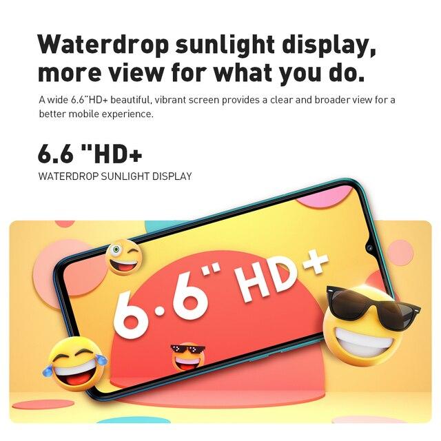 100% Original Infinix Hot 10 Lite Global Version smart phone  6.6 inch Helio A20 2GB 32GB Face unlock 13MP Triple Camera 2
