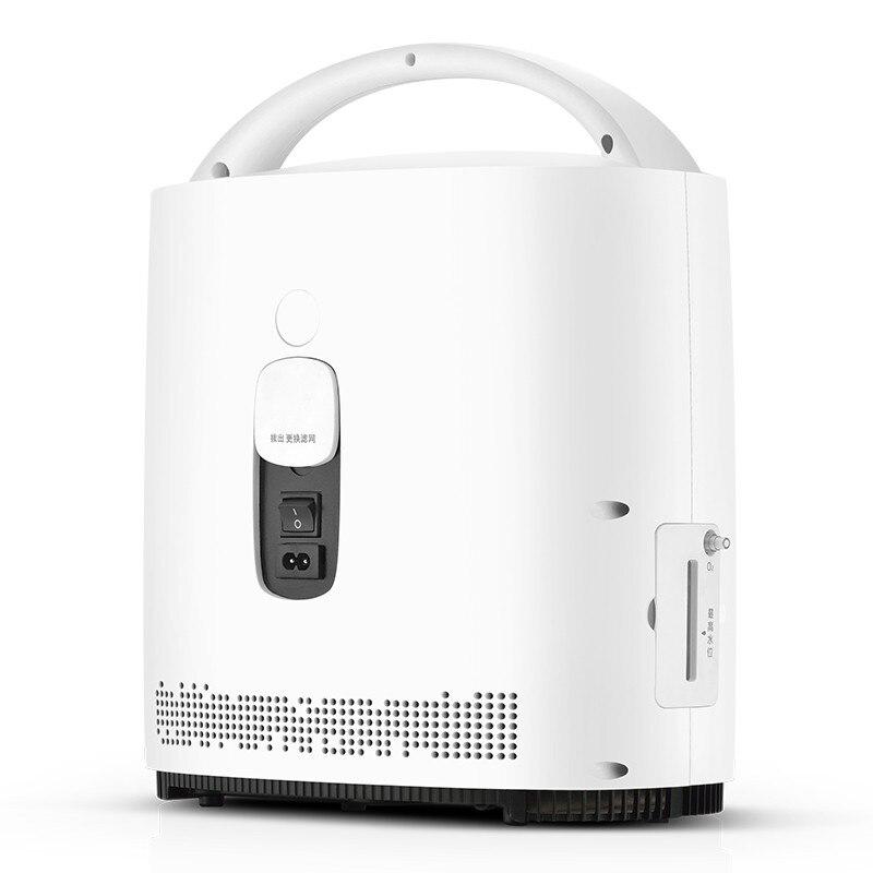 Tragbare Sauerstoff Konzentrator O2 Generatoren Luftreiniger Ventilator Schlaf MINI Sauerstoff Maschine Für Home Medizinische ausrüstung