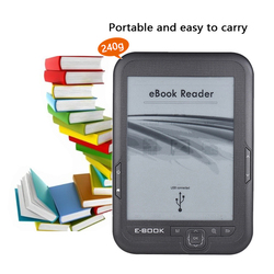 Electronic book e-ink Ebook Reader 6 inch 16GB 8GB e reader e-book e ink FB2 Ebook Ereader