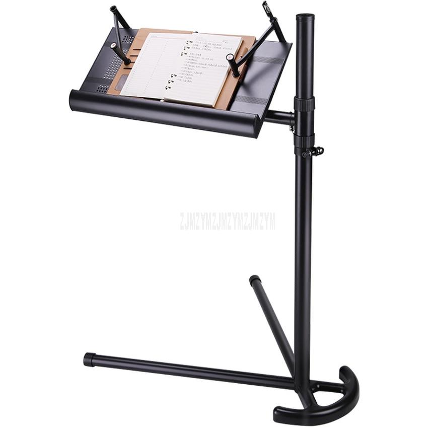 1M/1.2M Desktop Rotatable Book Laptop Bracket Desk Mordern Bed Side Table Desktop Height Adjustable For Notebook Stand Tray C2
