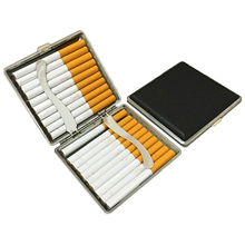 Cigarette-Case Iron-Clip Portable Business 20-Sticks Fixed Men Lady