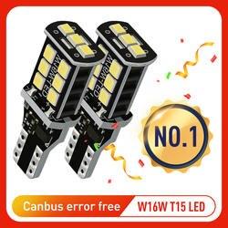 2x W16W T15 светодиодный лампы 2835 SMD Canbus OBC ошибок светодиодный резервного света 921 912 W16W светодиодный лампы автомобилей Обратный ксеноновая