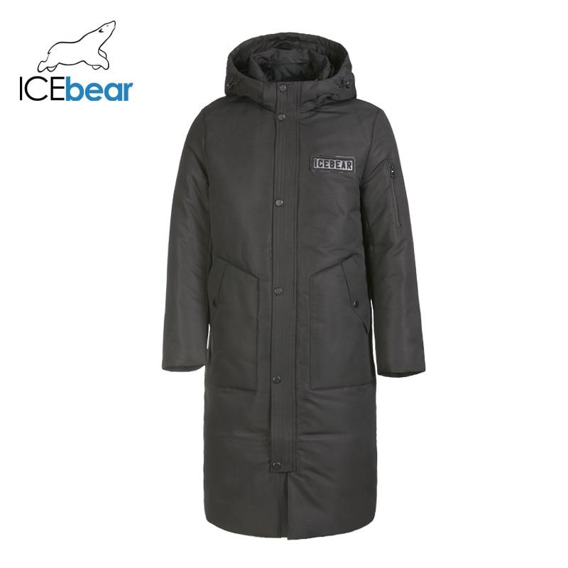 ICEbear Brand Men's Down Coat Casual Fashion Winter Jacket For Men Hooded Men's  Coat Male Outwear Male Apparel MN418859P