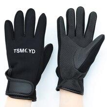 Для женщин мужчин Перчатки для плавания и дайвинга 1,5 мм неопрена для плавания и дайвинга перчатки противоскользящие теплые плавательная п...