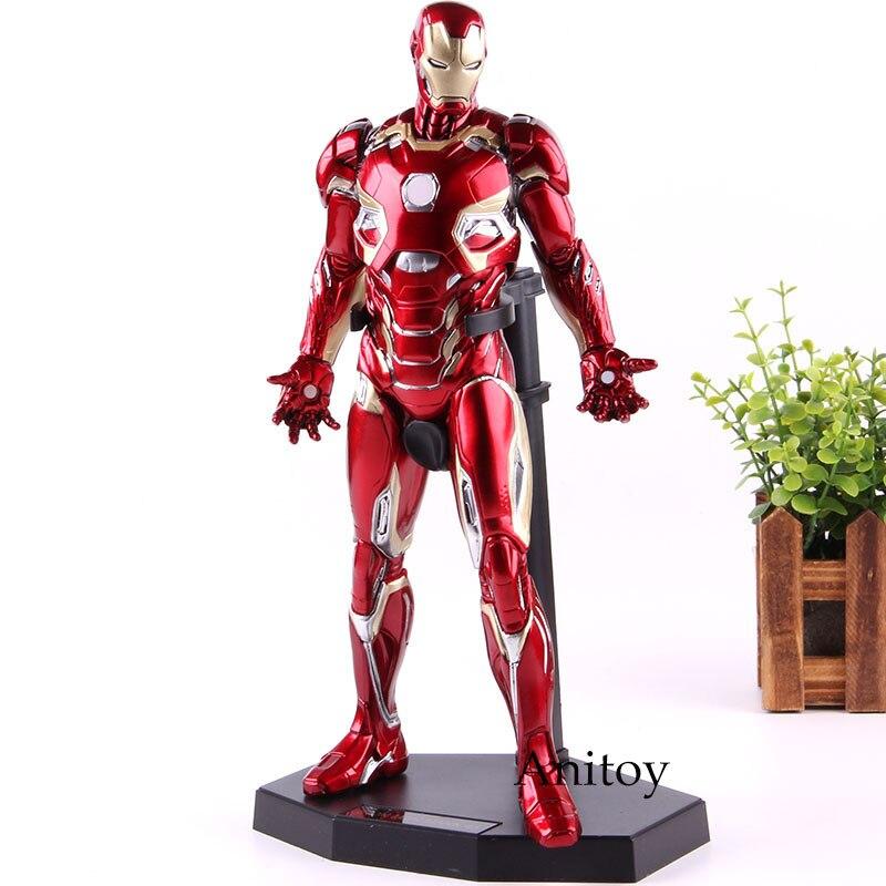Jouets fous 1:6 Marvel Ironman Action Figure marque XLV fer homme MK45 1/6 échelle Marvel fer homme Figure modèle à collectionner jouet