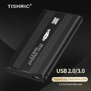 TISHRIC Hdd чехол Usb 2,0 Sata Поддержка 8 ТБ футляр для внешнего жесткого диска чехол Корпус для жесткого диска с жестким диском чехол 2 5 Жесткий диск для подключения жесткого диска