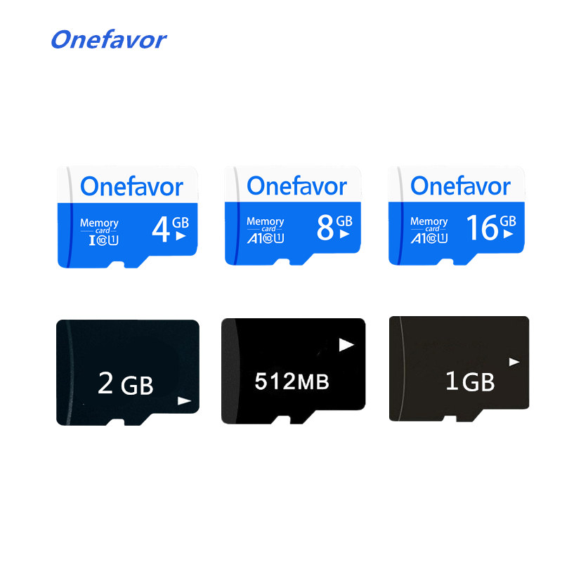 Promotion! Onefavor 16GB 8GB 4GB Micro Card Class10 Micro SDHC SDXC SD Card 64MB-2GB Micro TF Flash Card Memory Card