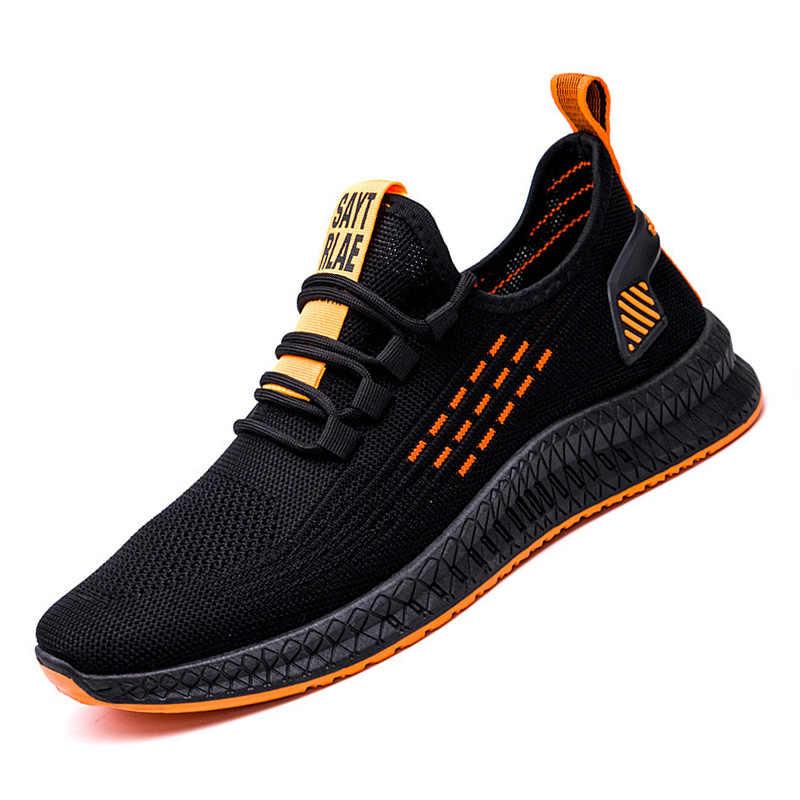 Baskets décontractées 2020 hommes chaussures décontractées à lacets hommes chaussures chaussures de marche légères hommes baskets hommes tendance chaussures Zapatillas Hombre