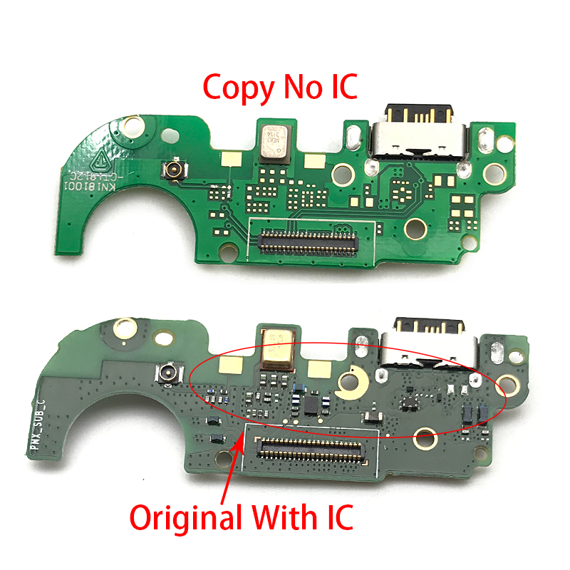 USB <font><b>Charger</b></font> Board For <font><b>Nokia</b></font> <font><b>8.1</b></font> X7 <font><b>charger</b></font> port USB charging port dock connector complete Flex cable image