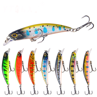 1Pcs Topwater Floating Pencil Fishing Lure 70mm 4g Sub Surface Dying Fish Lures Artificial Hard Bait Pesca Fishing tackle in Fishing Lures from Sports Entertainment