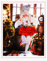 Re: Life in a different world from zero christmas Rem Cosplay Costume rem re0 Christmas Cosplay costume suit set gift