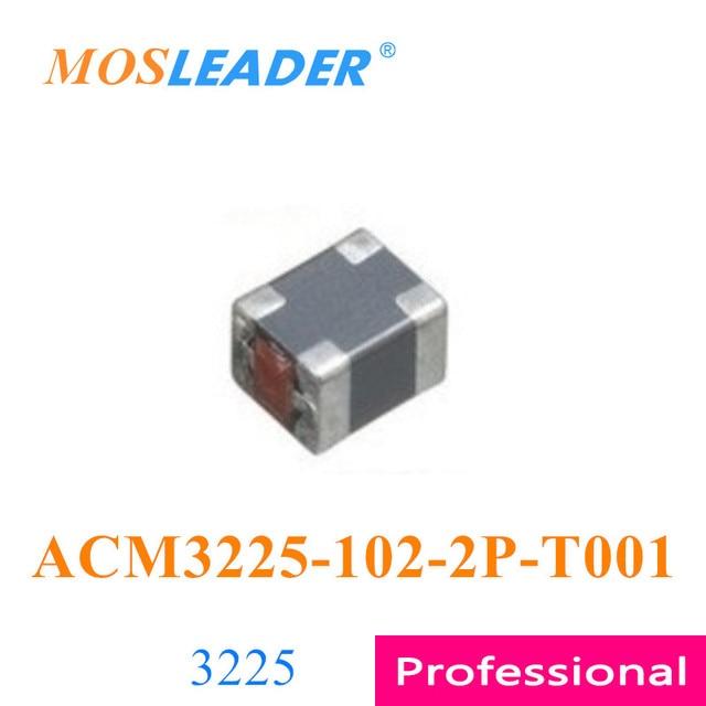 Mosleader 100 Uds 1000 Uds 3225 ACM3225 102 2P T001 ACM3225 102 2P ACM3225 102 1000R hecho en China alta calidad de inductores