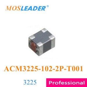 Image 1 - Mosleader 100 sztuk 1000 sztuk 3225 ACM3225 102 2P T001 ACM3225 102 2P ACM3225 102 1000R wykonane w chinach wysokiej jakości cewki indukcyjne