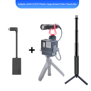 Image 4 - GoPro Pro 3.5mm Mic Adapter for HERO 9 HERO 8  HERO 7 HERO5 Black/HERO5 Session/ HERO6 BLACK AAMIC 001