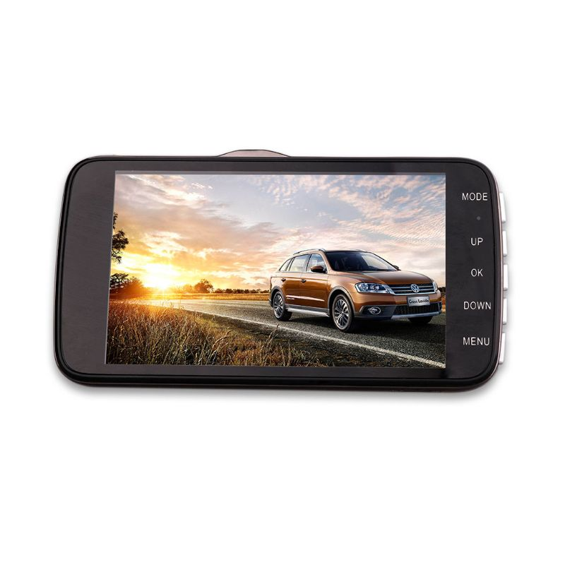 GPS Dual Lens Camera HD Car Driving Recorder DVR Dash Cam Video G-Sensor Night Vision