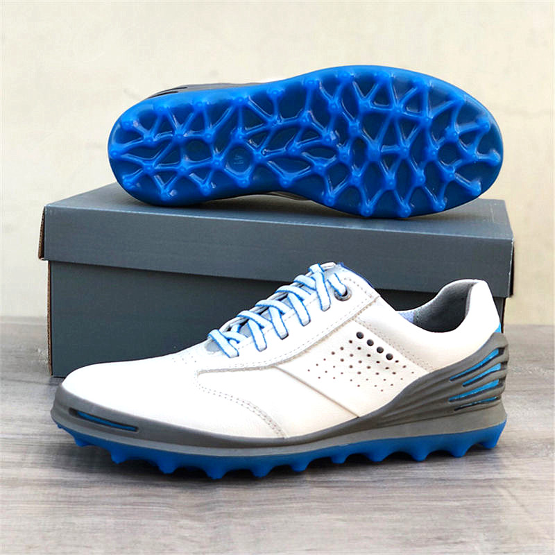 Golf Shoes Golf Spikes for Sneakers Professional Golf Shoes Men Waterproof Non-slip Golf Shoes Genuine Leather Genuine Leather
