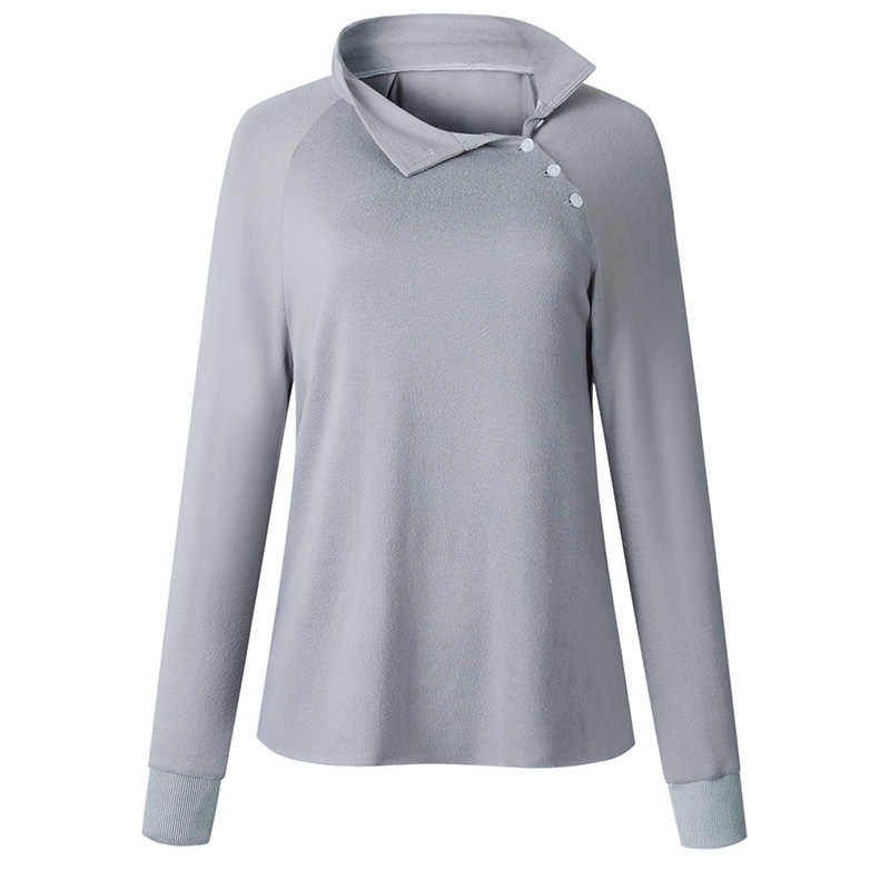Outono e inverno casaco gola oblíqua casaco casaco camisola casual hoodies outono manga longa retalhos de pelúcia moletom