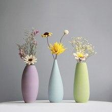 Nowoczesny prosty ceramiczny kwiat w wazonie wazon na kwiaty dekoracje ślubne waza porcelanowa dekoracja na biurko noworoczny pr