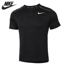 Original New Arrival   NIKE  DRY MILER TOP SS Men's T-shirts  short sleeve Sportswear цена 2017
