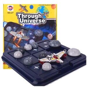 Image 1 - Asteroid kaçış sürgülü bulmaca seyahat oyunu çocuklar ve yetişkinler için kozmik bilişsel beceri geliştirme beyin oyunu 6 yaş & Up