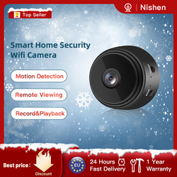 1080P Full- Mini WIFI IP Camera Wireless Mini Camcorders Indoor Home Security Night Mobile Detection Remote Alarm