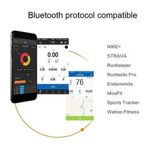 Image 5 - MAGENE MHR10 מעודכן H64 קצב לב מד חיישן Bluetooth 4.0 ANT + אופני ספורט כושר אביזרי אופציונלי