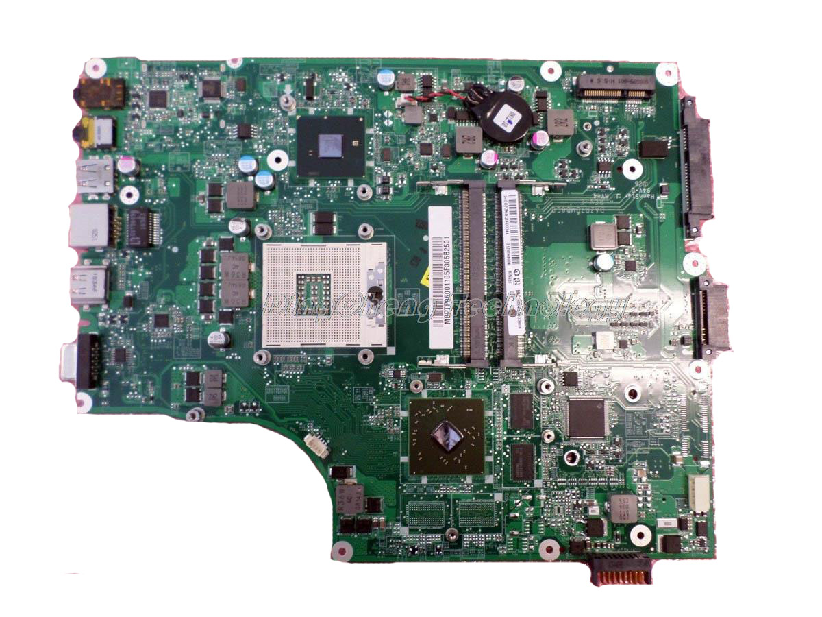 Laptop <font><b>Motherboard</b></font> For <font><b>Acer</b></font> 5820 5820T 5820TZG <font><b>5820TG</b></font> DAZR7MB8E0 MBPTP06001 MB.PTP06.001 non-integrated graphics card image
