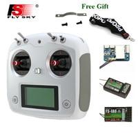 FLYSKY FS-i6S i6S 2 4G 10CH AFHDS 2A Zentrierung Drossel Sender mit Halter iA6B A8S iA10B Empfänger RetailBox RC FPV drone
