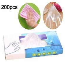 Новинка 200 шт одноразовые кухонные перчатки для выпечки Виниловые Перчатки Многофункциональные прозрачные тонкие перчатки водонепроницаемые для уборки по дому