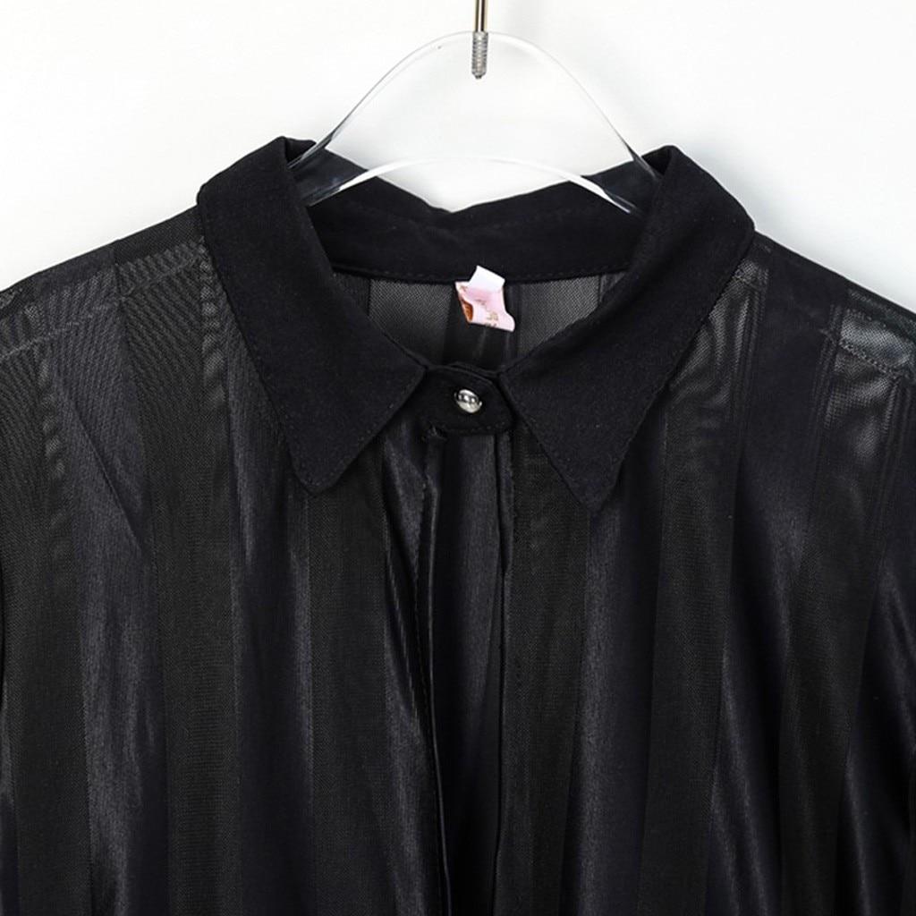 Feitong, модное женское платье, Vestidos, сексуальное, с длинным рукавом, в полоску, сетка, пэчворк, бодикон, повседневное, для работы, платье для женщин
