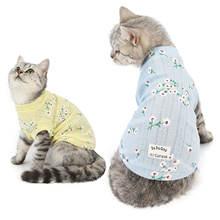 Одежда для кошек осенняя и зимняя одежда новинка домашних животных