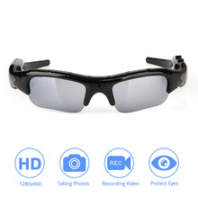 DVR Video Sunglasses Tf Mini Camera Audio Video Recorder for Xiaomi Mijia Action Camera for Go Pro DV Hd Glasses Cycling Skiing sunglasses mini camera dv wide angle 120 degrees camera hd 1080p for outdoor action sport video mini camera secret glasses cam