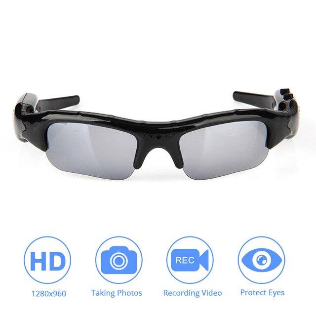 DVR wideo okulary Tf Mini kamera Audio wideo rejestrator dla Xiaomi Mijia Action Camera dla Go Pro DV Hd okulary jazda na rowerze narciarstwo