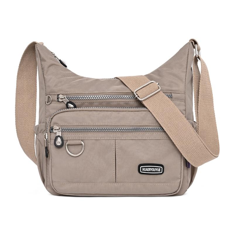 New Women Handbag Shoulder bag Female light CrossBody Bag Ladies Messenger Bag Nylon waterproof Lady Purse sac a main