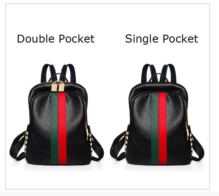 Hb13e8312a1934ff2bb0343200c7b243aD Luxury Famous Brand Designer Women PU Leather Backpack Female Casual Shoulders Bag Teenager School Bag Fashion Women's Bags
