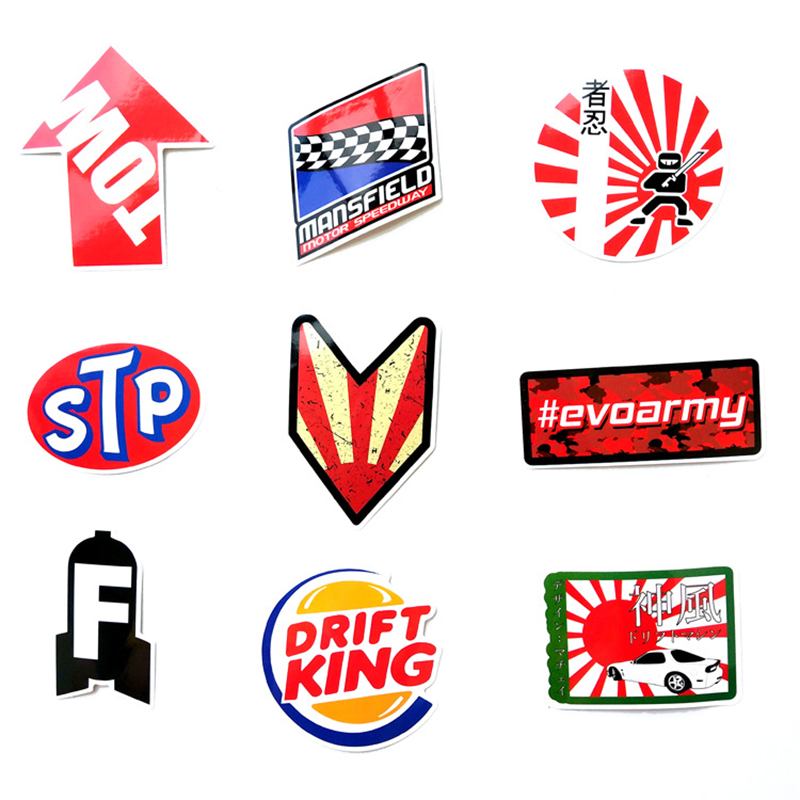 Mega Deal B7be 100pcs Funny Word Car Stickers On