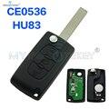 Пульт дистанционного управления CE0536  3 кнопки  светильник HU83  434 МГц для Citroen  Peugeot